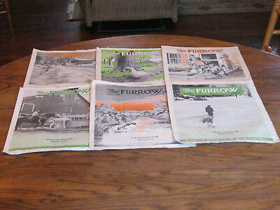 THE FURROW  JOHN DEERE MAGAZINE  13 ISSUES  1950 to 1952
