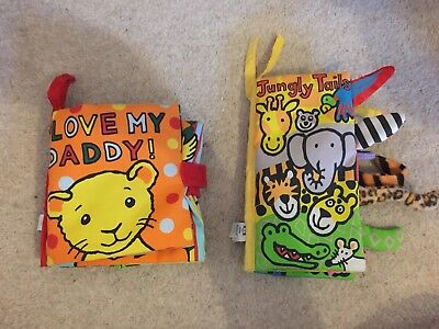 2 X Soft Baby Books