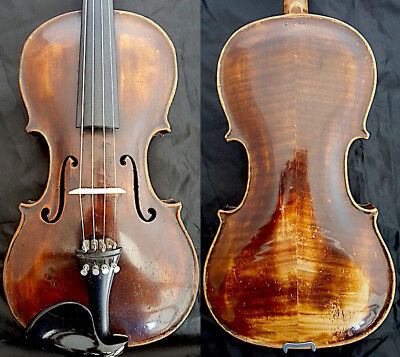 FINE ANTIQUE 4/4 VIOLIN Labe:  Jacobus STEINER in Absam 1745 fiddle 小提琴 ヴァイオリン