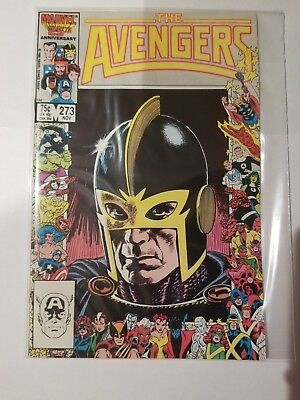 AVENGERS #273 VERY FINE / NEAR MINT Condition Marvel 25th Anniversary