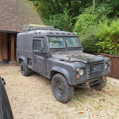 Rare Ex Army Snatch Land Rover Defender 110 Project Parts Or Will Break V8