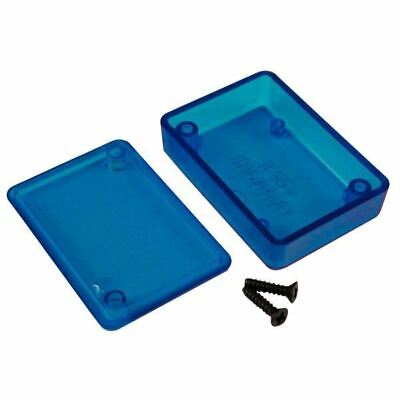 Hammond 1551FTBU Miniature Plastic Enclosure 50 x 35 x 15 Transparent Blue