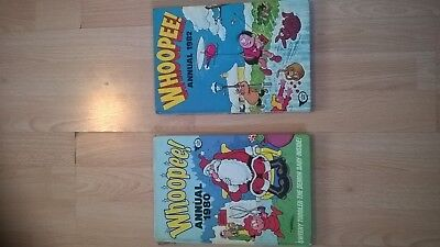 Whoopee Comic Annuals 1980 & 1982