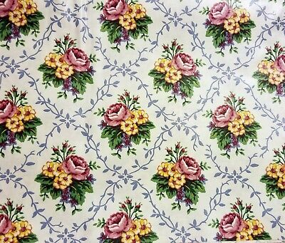 Longaberger Mothers Day fabric.  Big 56 inches wide. Sold by the yard