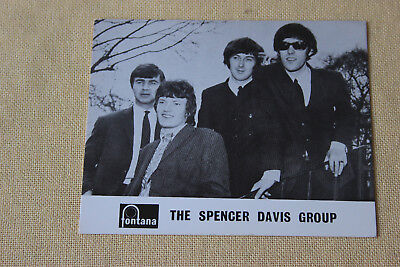 Autogrammkarte  The Spencer Davis Group