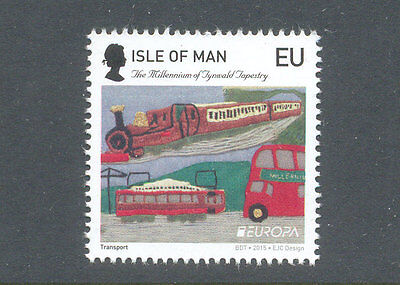 Isle of Man Error Larger Queens Head than on normal issue-single mnh