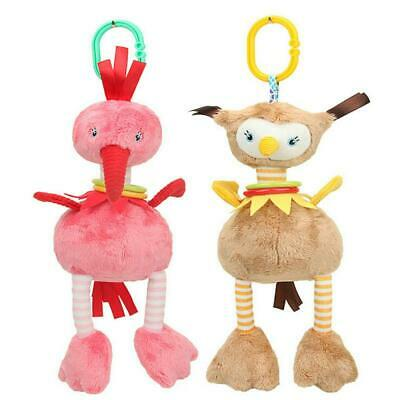 Newborn Bed Stroller Hanging Rattle Plush Baby Toy for Kids Crib Doll Q