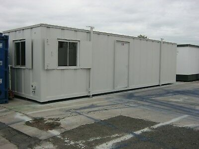 32ft x 10ft Anti Vandal Portable Cabin DOUBLE OFFICE welfare shipping container