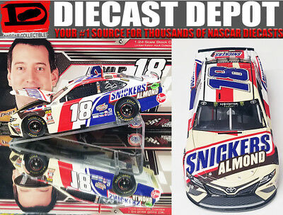 Kyle Busch 2018 Snickers Almond 1/24 Scale  Action Nascar Diecast Collector