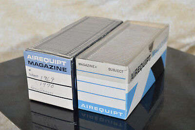 Airequipt 35mm Slide Trays - LOT of 2 each slide trays