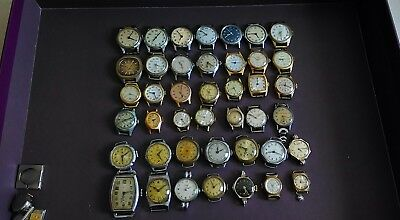 Job lot Vintage Antique Mechanical watches spare parts repair