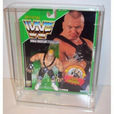 Bespoke Acrylic Display Case For Vintage MOC Carded WWF Wrestling Figure