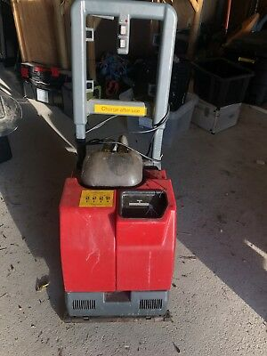 Cleanfix RA 320 IBC Compact Scrubber Dryer Commercial Battery