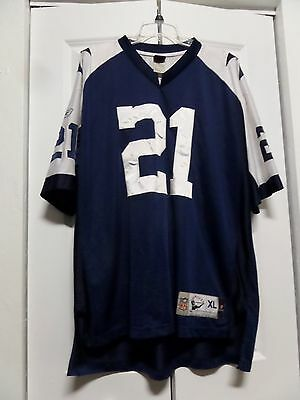 new product d6e4a 84e5d J JONES DALLAS Cowboys Reebok Throwback Vintage Jersey XL #21 NFL Football