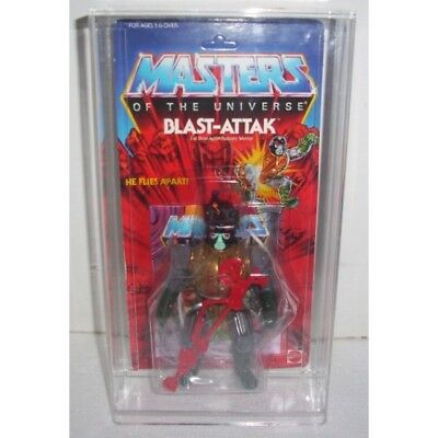Bespoke Acrylic Display Case For Vintage MOC Carded Heman MOTU Figure