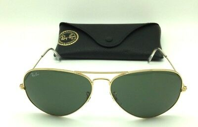 ... low price authentic ray ban rb 3026 aviator large metal ii l2846  sunglasses b9a02 19c53 0329fd6f28