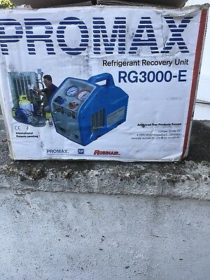Promax Rg3000-E Refrigerant Gas Air Con Recovery Unit Machine