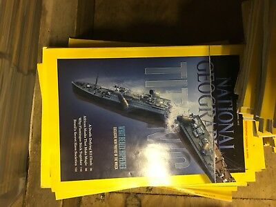 national geographic magazine collection 86-2012