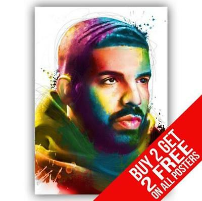 Drake Scorpion Poster Print A4 / A3 Size - Buy 2 Get Any 2 Free