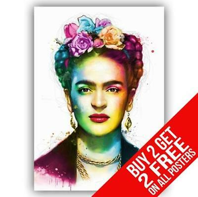 Frida Kahlo Poster Art Print A4 / A3 Size - Buy 2 Get Any 2 Free