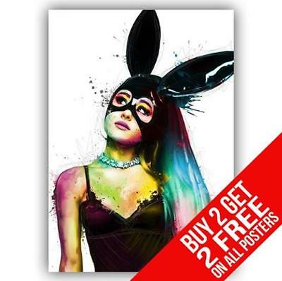 Ariana Grande Poster Art Print A4 / A3 Size - Buy 2 Get Any 2 Free