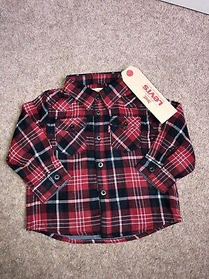 Baby Boy Levi's Shirt ! Brand New ! 12 Months