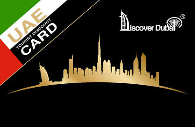 Discover Dubai Tourist Discount Card - Discounts on Attractions, Restaurants etc