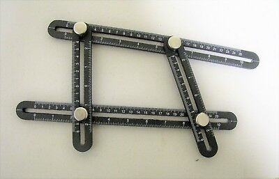 Metal Multi Angle Measuring Template and Ruler