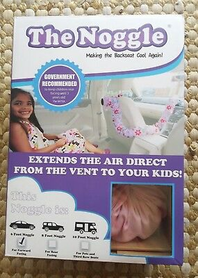 The Noogle 6' Forward Facing Child Comfort car system A/C extender Pink New