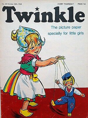 TWINKLE - 26th OCTOBER 1968 (24 - 30 Oct) RARE 50th BIRTHDAY GIFT !! FINE..bunty