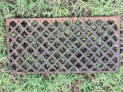 Rustic Vintage Iron Grate