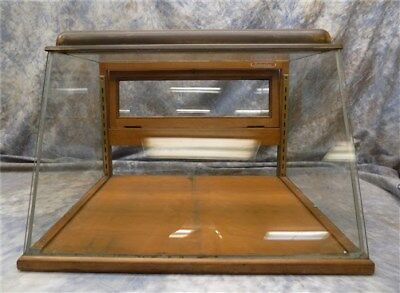 23 Inch Showcase Slant Glass Counter top Country Hardware Store Display Case