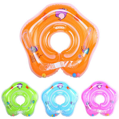 Neck Float Circle Swimming Pool Toy Kid Baby Comfortable 4 Colors New Fashion