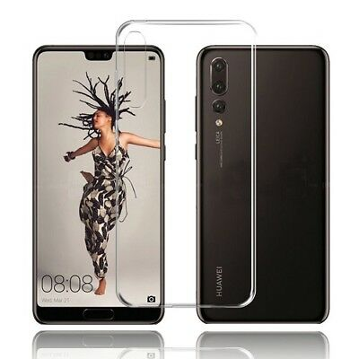 Ultra Thin Clear Silicone Slim Gel Case Cover For Huawei P20, P20 PRO, P20 Lite