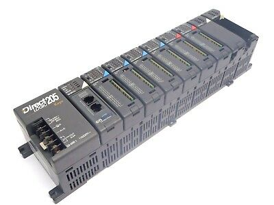 Automation Direct Logic 205, Host H2-WPLC2-EN, (4) D2-16ND3-2, (2) D2-16TD2-2