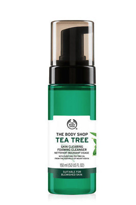 The Body Shop - Tea Tree Skin Clearing Foaming Cleanser 150ml *New/Free P&P*