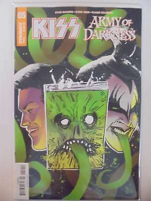 Kiss Army of Darkness #5 A Cover Dynamite NM Comics Book