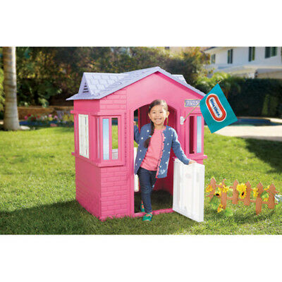 little tikes princess cottage playhouse pink - Little Tikes Home And Garden Playhouse