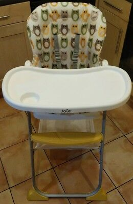 Joie Mimzy Highchair with Owl Print RRP £45