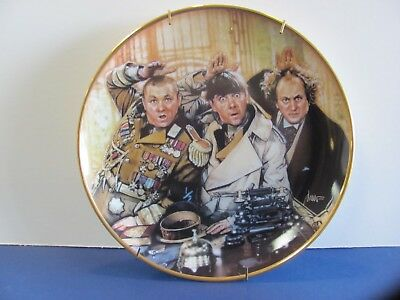 "THREE STOOGES Collector Plate  ""The Three Stooges"" Franklin Mint (1993)"