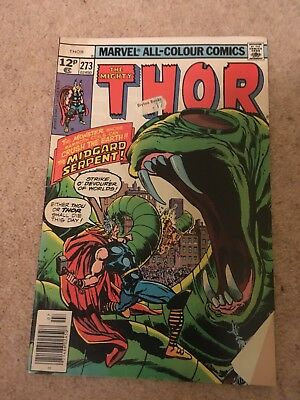 The Mighty Thor #273 Marvel Comics Group