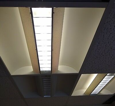One suspended ceiling lights low energy (not led)  600 x 600 up to 12 available