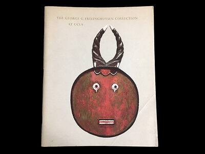 George G. Frelinghuysen Collection Exhibit Ucla 1968  Tribal Art  Africa Asia