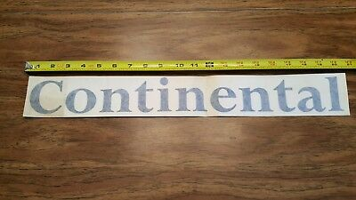 Continental Airlines Adhesive Decal  (Small)