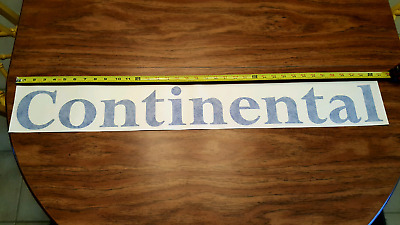 Continental Airlines Adhesive Decal  (Large)