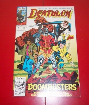 Deathlok  Volume 1 #5 The Souls Of Cyber-Folk! - Part 4 of 4 Exc. Cond. - 1991