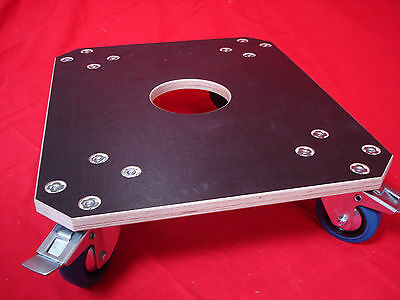 Roll Board Furniture Mover Caster Wheels Dog 600x500mm Blue 600 kg New