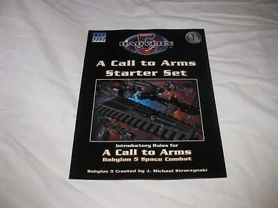 Babylon 5 A Call to Arms Starter Set Introductory Rules
