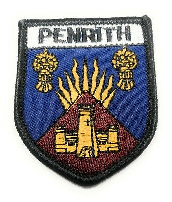 THE DALES WAY BADGE Embroidered Sew on Patch Approx 70mm FREE UK Delivery!