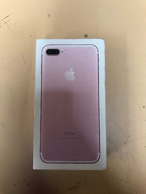 Genuine Apple iPhone 7 Plus 32GB - Rose Gold Replacement BOX, BOX ONLY, No Phone